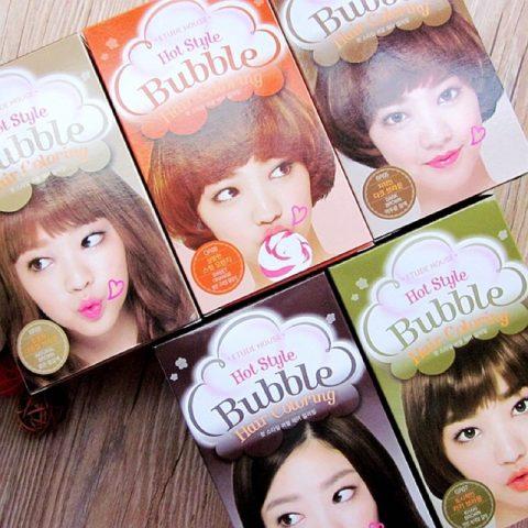 Bọt nhuộm tóc Etude House Hot Style Bubble