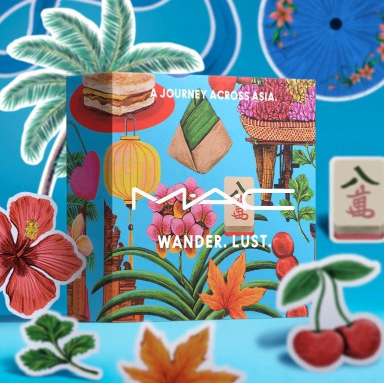 Tính cá nhân hóa mạnh mẽ trong bộ sưu tập son MAC Wander Lust Cities