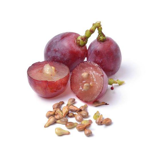 Hạt nho - các loại hạt giảm cân