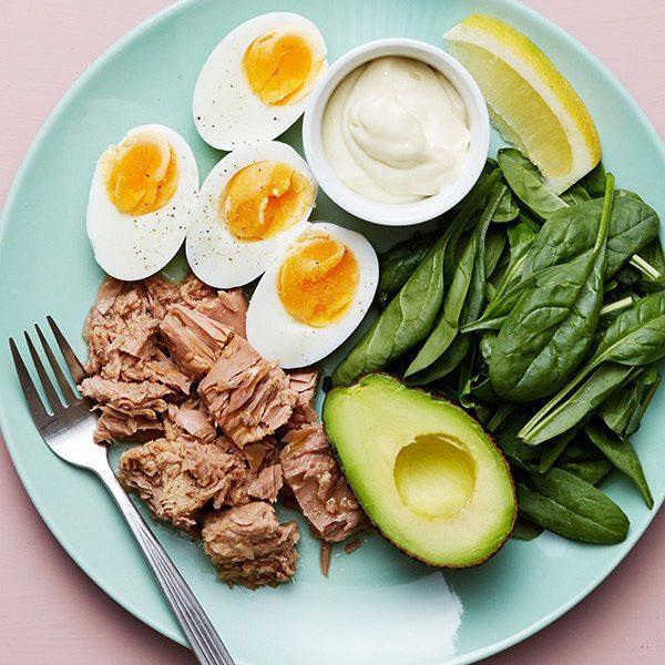 thực đơn giảm cân với Chế độ ăn Keto