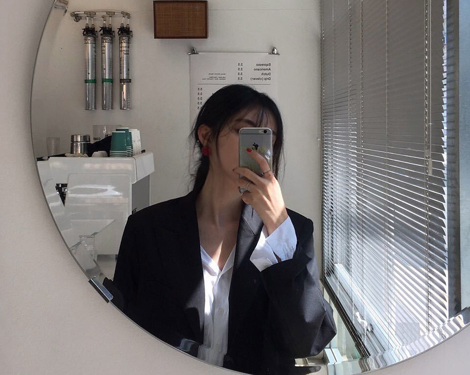 Chụp ảnh selfie che mặt