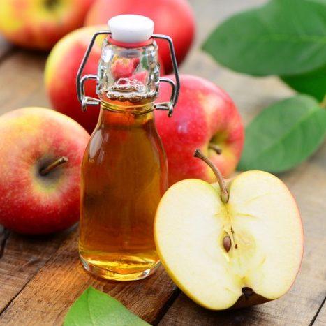 chăm sóc da bằng dấm táo