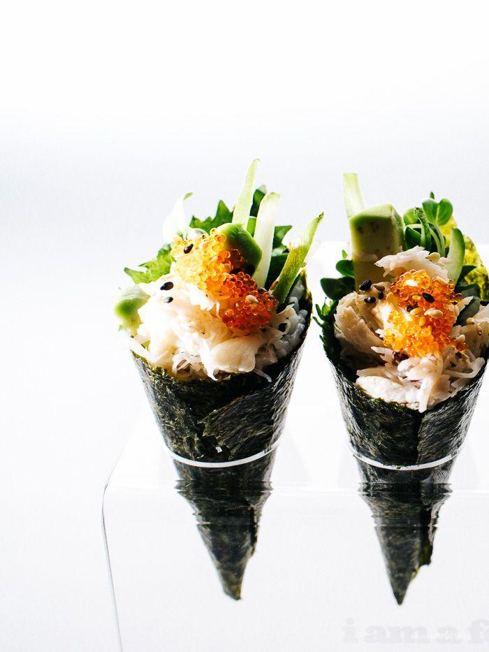 giảm cân bằng khoai tây với công thức cuộn rong biển