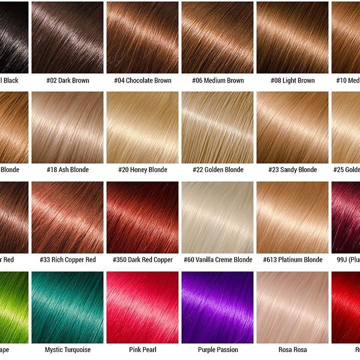 Bảng màu nhuộm tóc là gì?