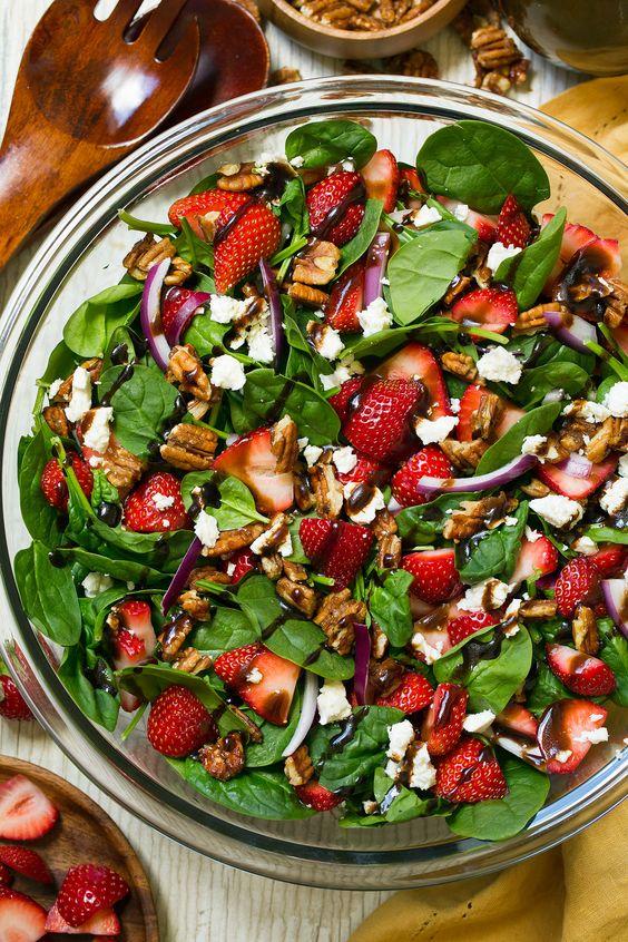 giảm cân bằng sữa chua và salad