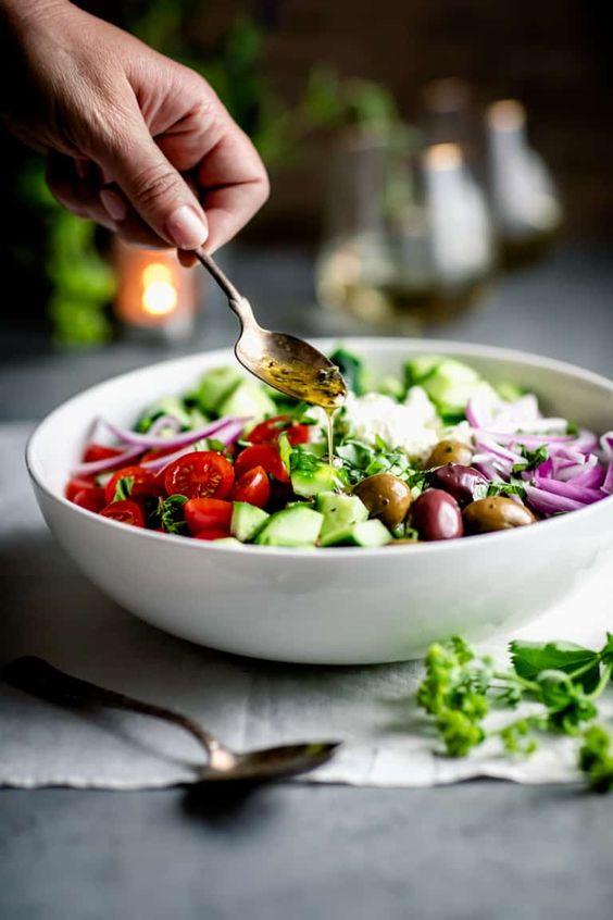 giảm cân bằng salad dưa chuột