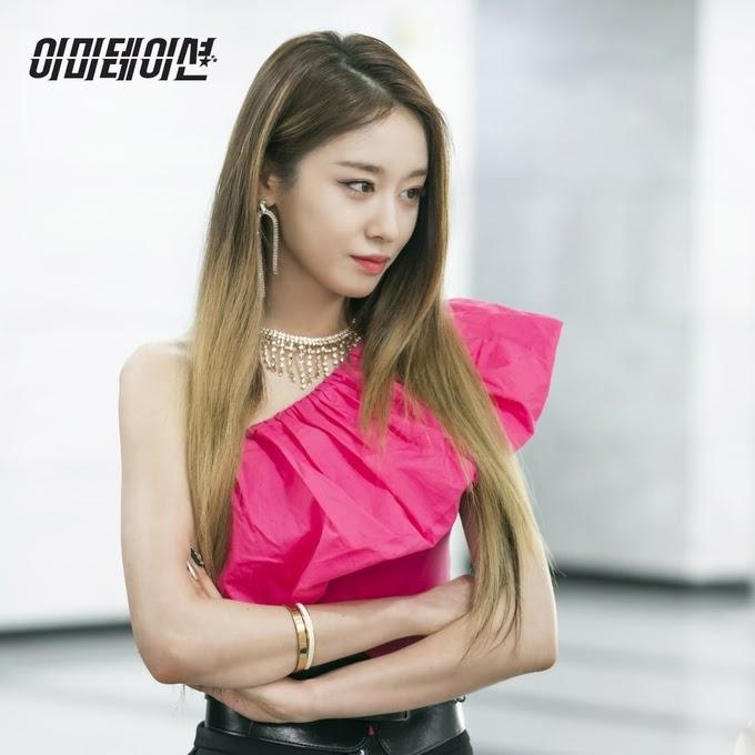 thần thái lạnh lùng của Jiyeon trong Imitation