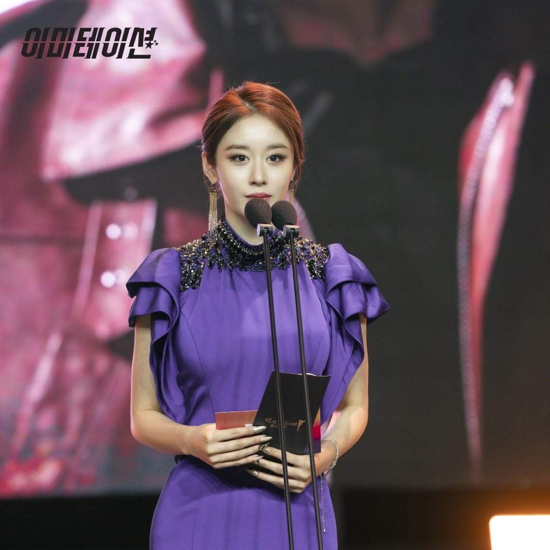 Ji Yeon trong vai La Mi Ra