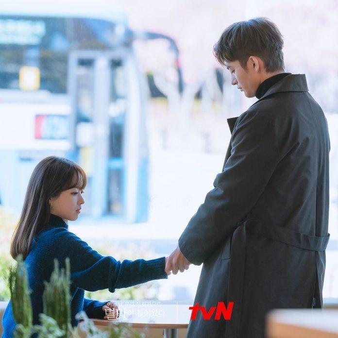 cảnh quay giữa cặp đôi Seo In Guk và Park Bo Young