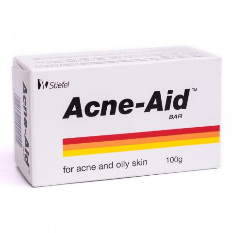 Xà phòng trị mụn lưng cho da nhờn Acne Aid Bar