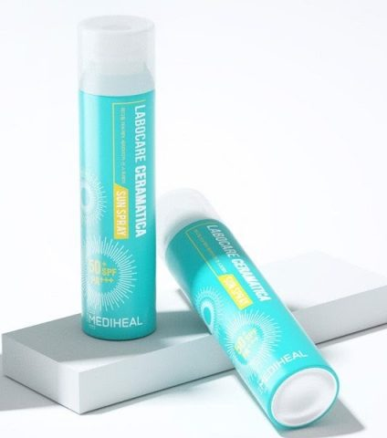 Xịt chống nắng Mediheal Labocare Ceramatica SPF 50+ PA+++