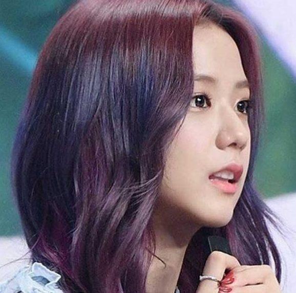 Vàng ánh tím - Màu tóc cho da ngăm giúp nàng nổi bật giữa đám đông