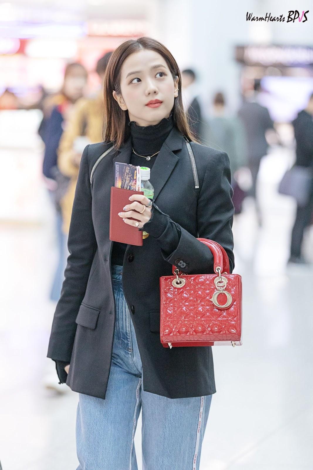 thời trang của Jisoo blackpink