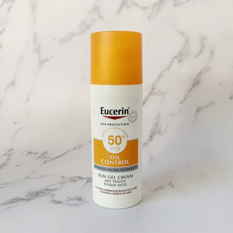 Kem Chống Nắng Kiểm Soát Nhờn Eucerin Sun Gel Cream Oil Control Dry Touch SPF 50+ UVB UVA
