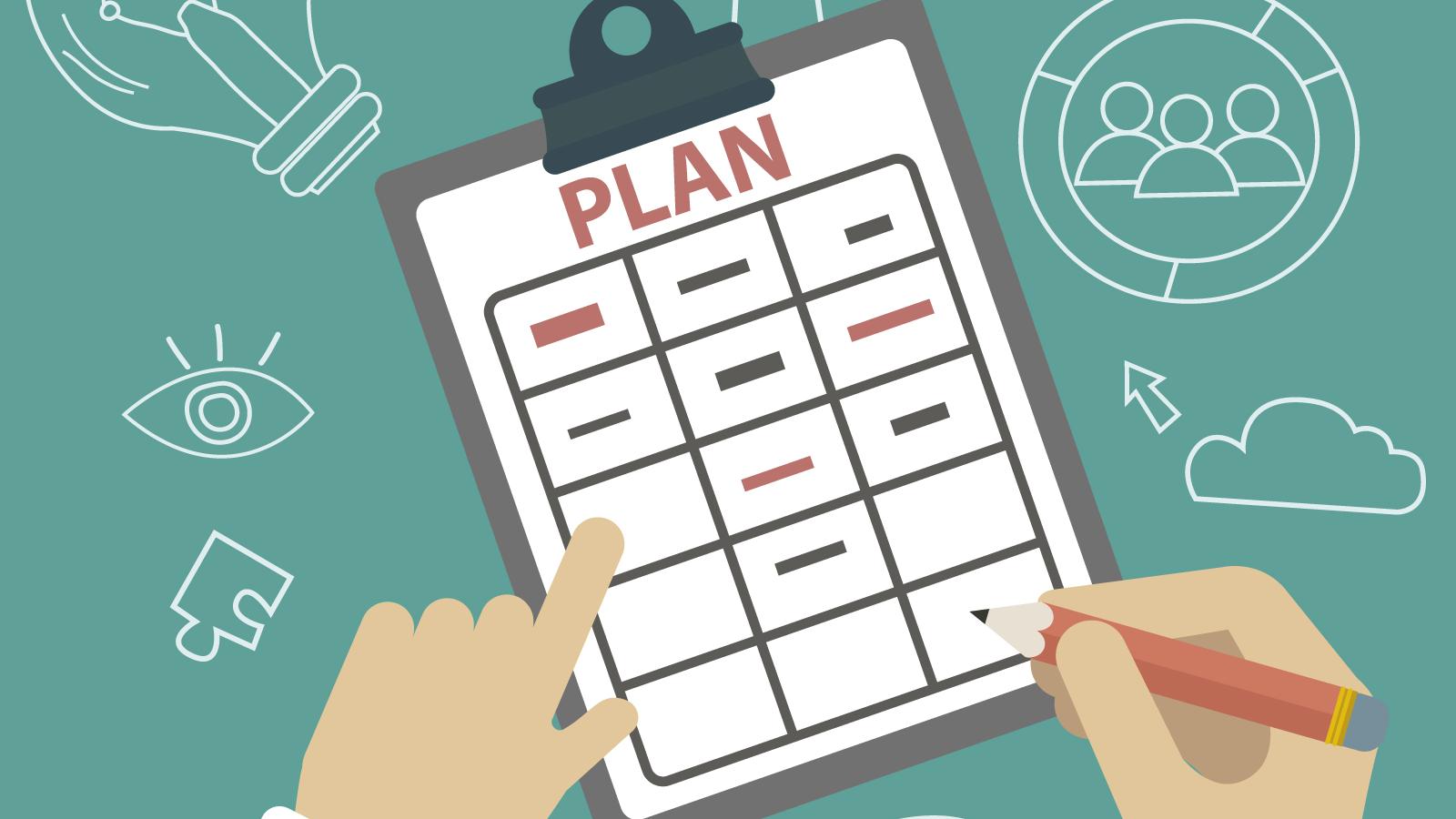 lập kế hoạch cho các mục tiêu