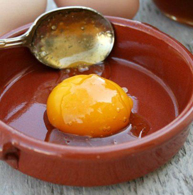 làm đẹp với trứng gà