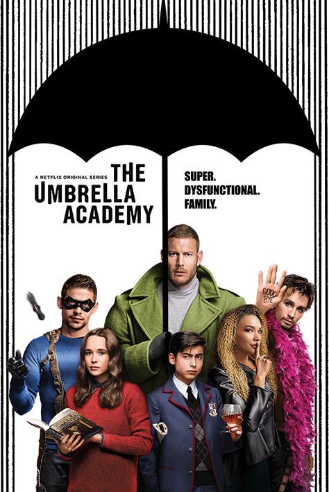 Phim Hay Trên Netflix - The Umbrella Academy