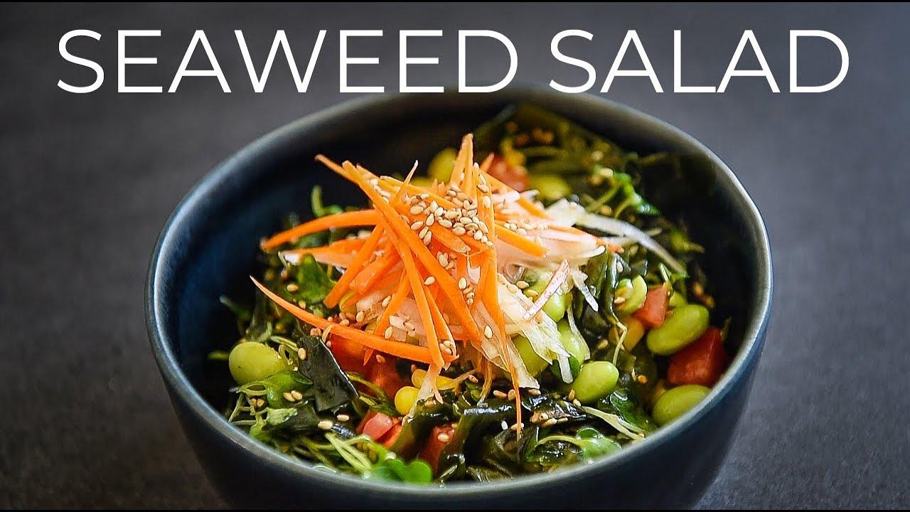 Cách làm salad tảo biển đơn giản