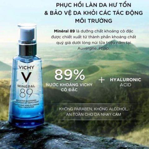 Serum dưỡng ẩm Vichy Minéral 89 50ml