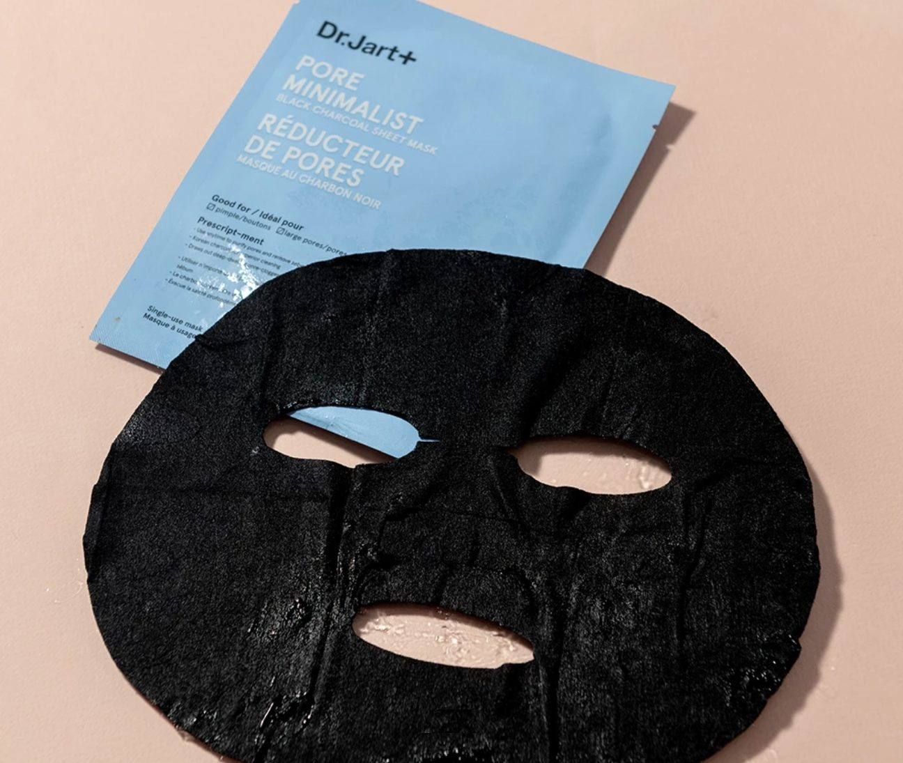 Mặt nạ than hoạt tính Hàn Quốc Dr. Jart+ Pore Minimalist Black Charcoal Sheet Mask