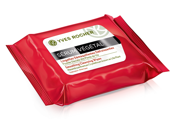 Smoothing Cleansing Wipes của Yves Rocher