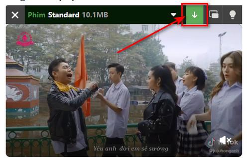 cách tua video trên tiktok khi Sử dụng trình duyệt Cốc Cốc