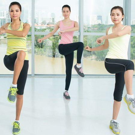 Thể dục nhịp điệu Aerobic - bài tập thể dục giảm cân tại nhà
