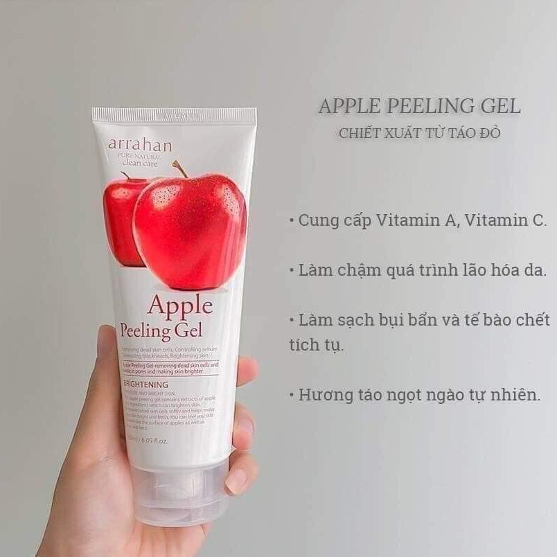 Tẩy da chết Arrahan Apple Peeling Gel