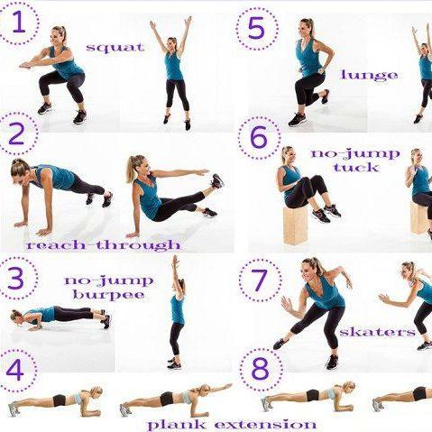 Cần tập thể dục giảm cân ở các bộ phận nào trên cơ thể?
