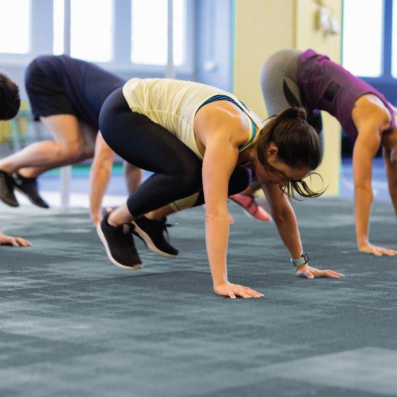 Động tác Burpees - tập thể dục giảm cân nhanh