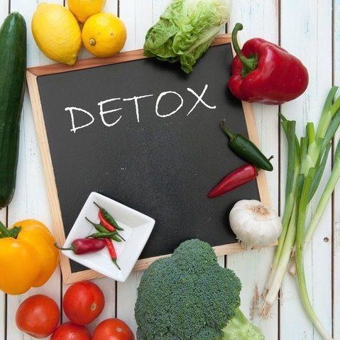 thực đơn giảm cân với chế độ ăn detox