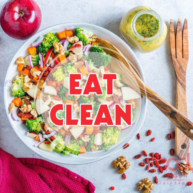 thực đơn giảm cân với Chế độ Eat Clean