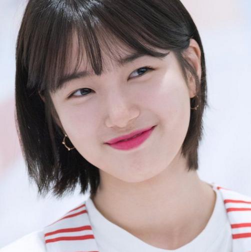 Tóc ngắn Suzy - Các kiểu tóc ngang vai trẻ trung