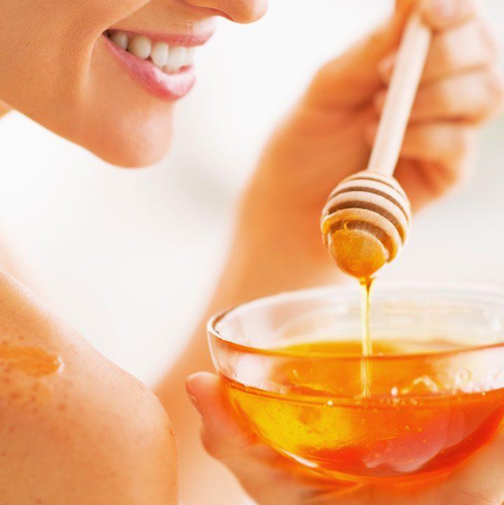 Dùng lotion mật ong cho da