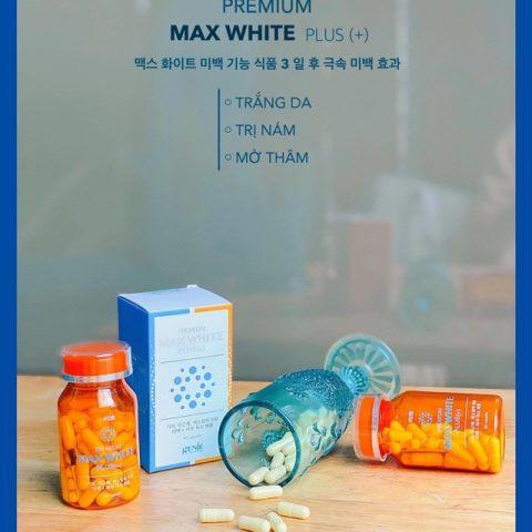 Viên uống trắng da toàn thân Hàn Quốc Genie Premium Max White