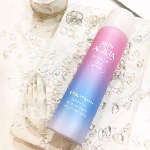 Xịt chống nắng Skin Aqua Tone Up