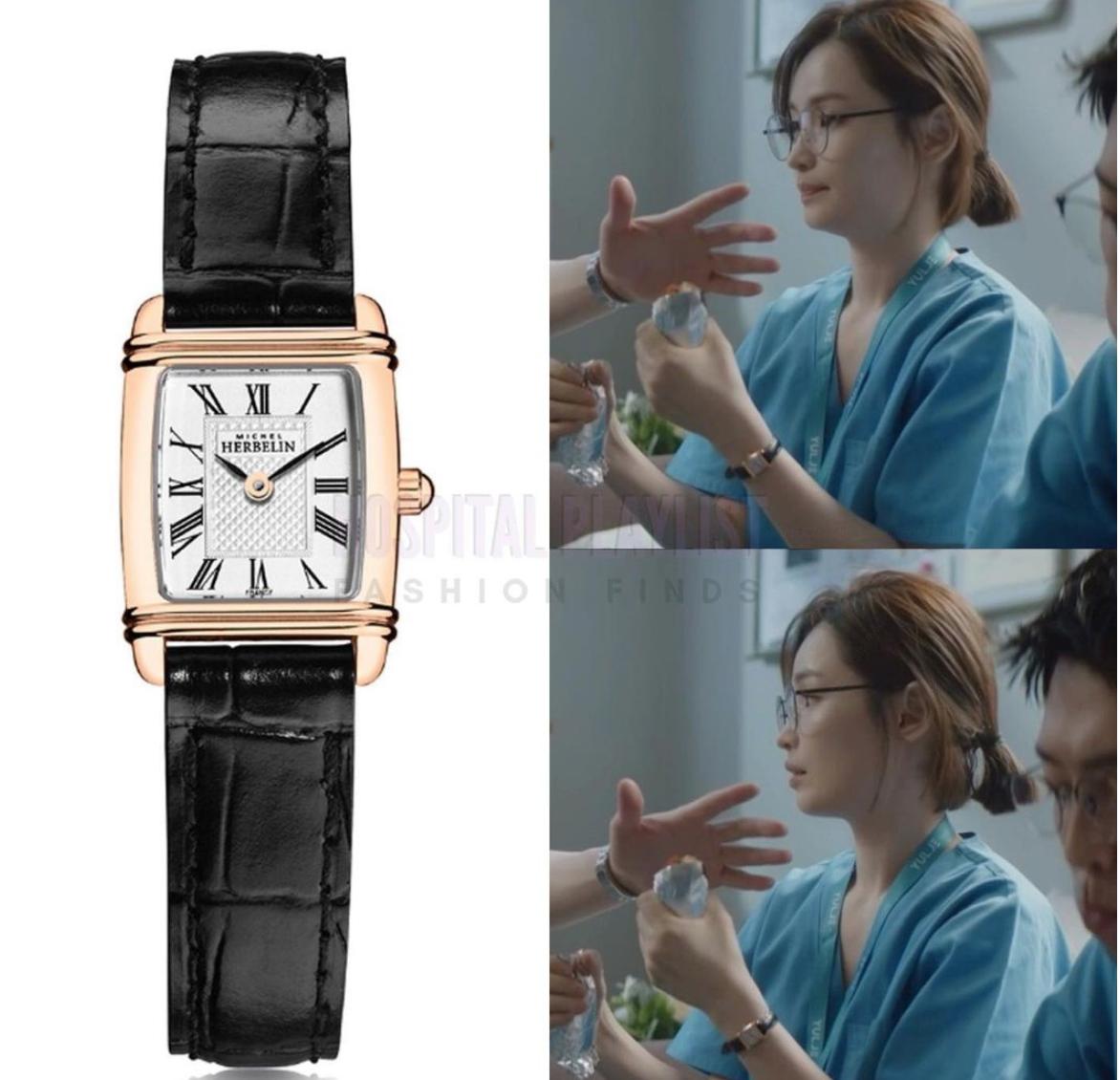 đồng hồ của nữ diên viên trong Hospital playlist phần 2