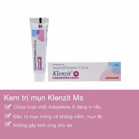 Kem chấm trị mụn Klenzit MS