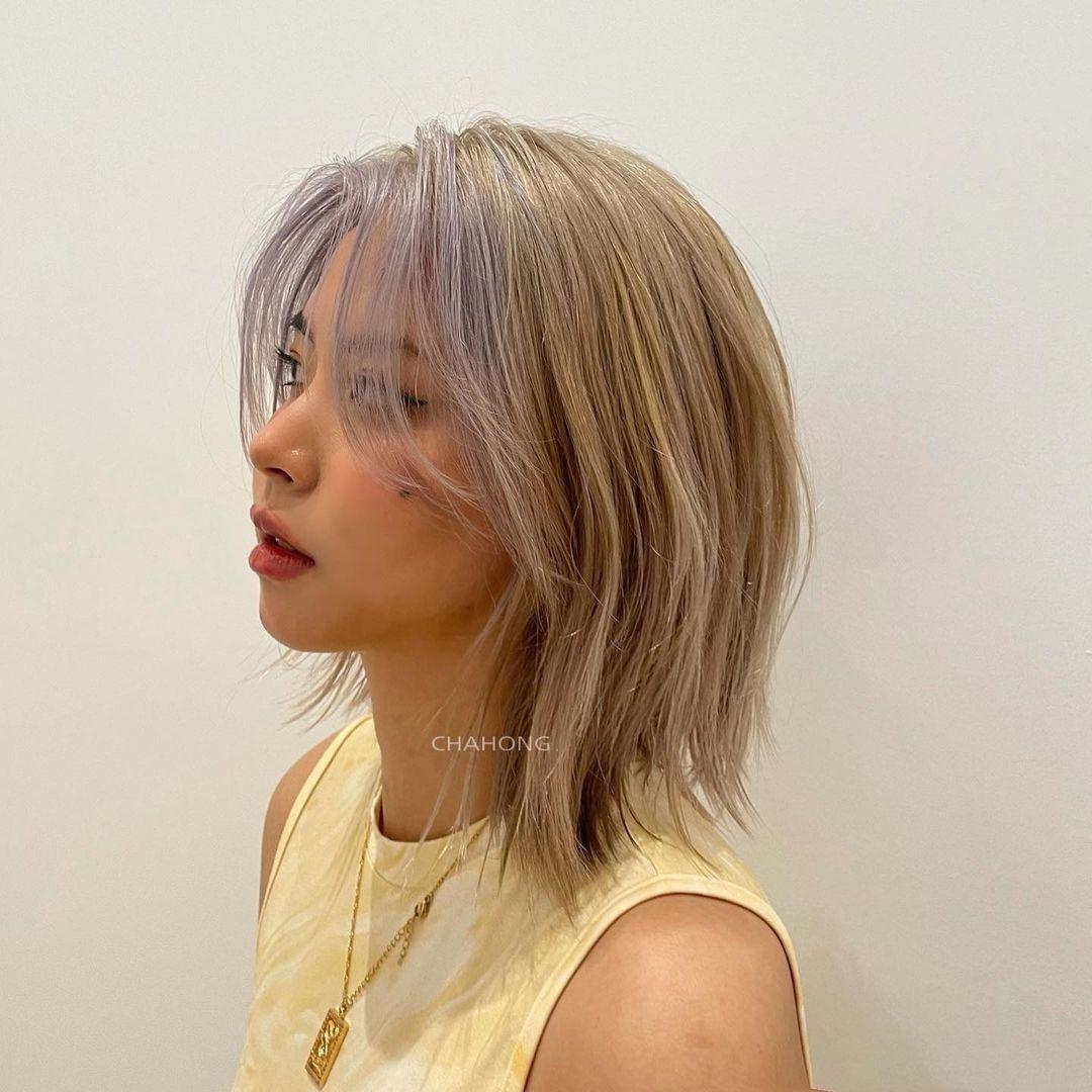 kiểu tóc dành cho bạn nữ có khuôn mặt tròn