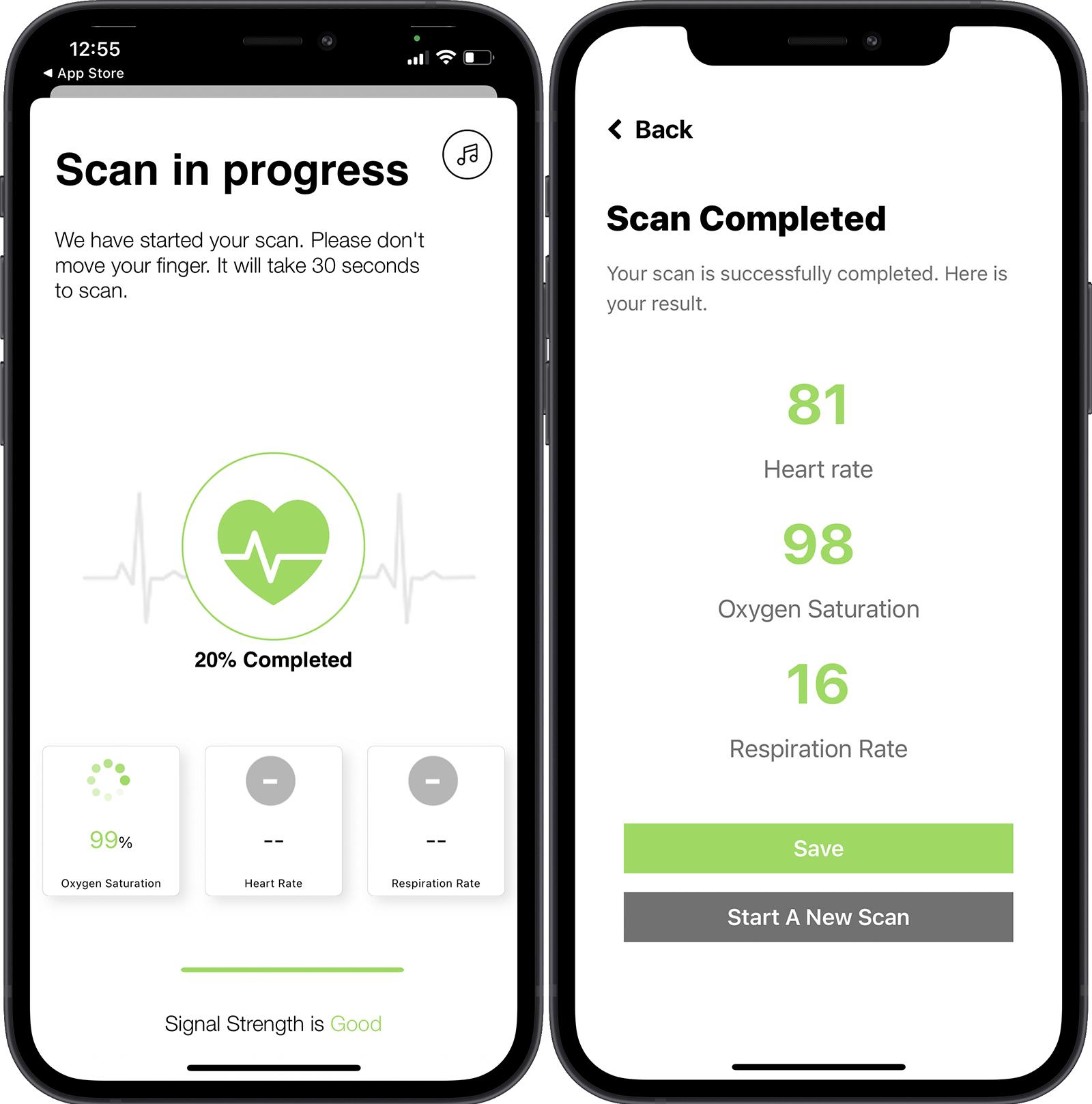 app đo nồng độ oxy trong máu