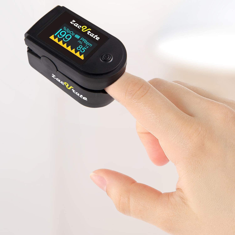 Pulse oximeter - máy đo oxy nhịp mạch cầm tay