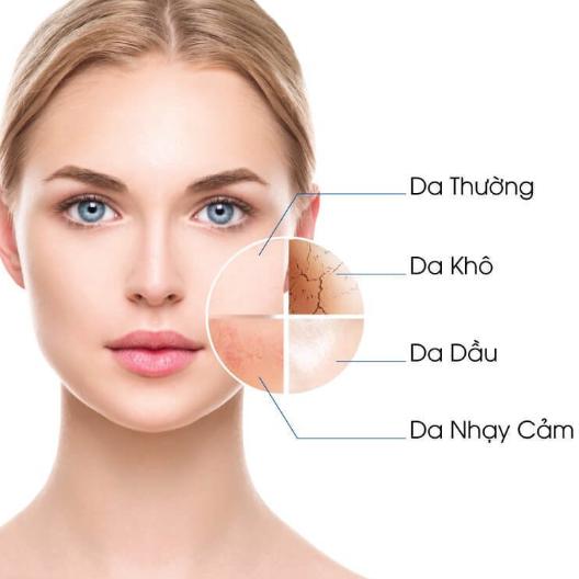 Đặc điểm của da hỗn hợp là gì?
