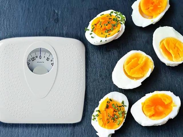 Thực đơn giảm cân bằng trứng gà cực hiệu quả và dễ thực hiện