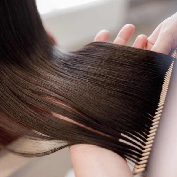 Giúp tóc thêm bóng mượt
