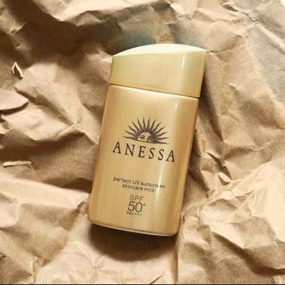 Kem chống nắng vật lý Anessa Perfect UV Sunscreen Skincare Milk cho da nhạy cảm