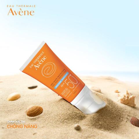 Kem chống nắng cho da khô nhạy cảm Avène Very High Protection Cream