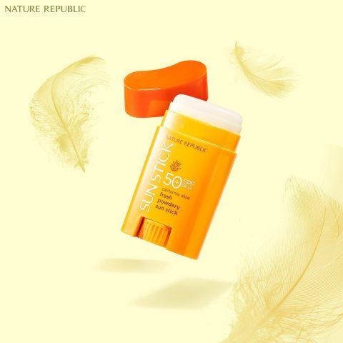 Kem chống nắng cho da mụn Nature Republic