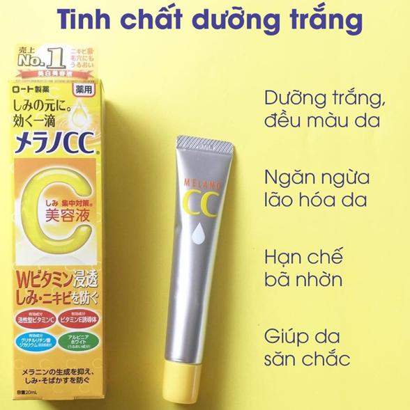 Rohto Melano CC Moisture Cream có thể dùng như kem dưỡng da ban đêm giúp cấp ẩm và giảm thâm