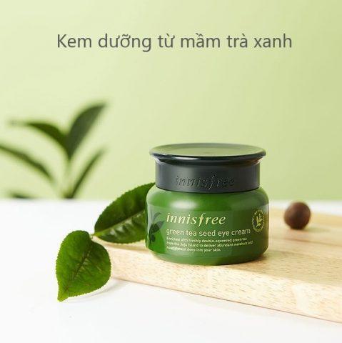 Kem dưỡng ẩm cho da khô Innisfree Green Tea Seed Cream