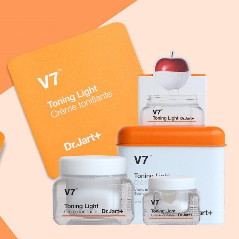 Kem V7 Toning Light Dr. Jart dưỡng trắng da Hàn Quốc